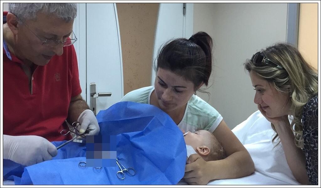 narkozsuz bebek sünneti